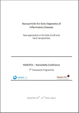 Nanoparticles for Early Diagnostics of Inflammatory Diseases | New approaches in the field of soft and hard nanoparticles (NANOFOL – NanoDiaRa Conference 7th Framework Programme)
